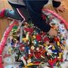 手作りおもちゃ収納袋