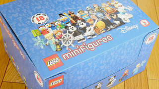 【LEGO】ミニフィギュア「71024:ディズニーシリーズ2」のBOXセットを購入した!
