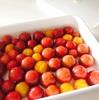 面倒をはぶいたズボラなトマトの湯むき〜ハチミツ漬け