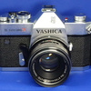 白銀の『YASHICA TL ELECTRO X』2