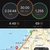 【速報】KIX泉州国際マラソン30kmの部完走!