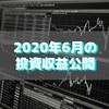 【目指せ不労所得】2020年6月の投資収益公開