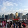 香港旅行②。Clockenflap 2017 @ 中環海濱活動空間(2日目)と香港の色んな町並み