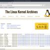 Linuxカーネルのソースコードの解凍