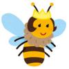 ハチのたたり?( ;∀;) 末広がりで縁起がいいはずだけど・・・