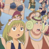 ONE PIECE(ワンピース) 413話「ルフィ大苦戦! ヘビ姉妹の覇気の力!!」