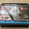 1台3役 電動工具 BLACK&DECKER(ブラックアンドデッカー) マルチツールEVO183をレビュー