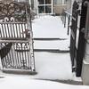 今年初の雪かきレンジャー出動