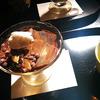 大極殿本舗六角店 栖園(せいえん) のココアの琥珀(こはく)と、雛まつりの「ひちぎり」