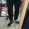 夏に穿きたい靴を試着