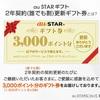 【au STAR】3000P分ギフト券をボタン型スピーカー「Pechat」と交換。