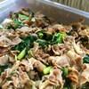 豚肉と高菜のマスタードマヨソテー