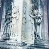 #アンコールワット個人ツアー(399) #アンコールワットの雨季の景色と女神像