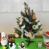 クリスマス広場のツリー取り替え