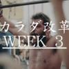 カラダ改革: Week3