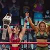 【NXT】柴雷イオとゾーイ・スタークがタッグ王座タイトル獲得