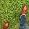 雨の日も余裕!なトリッカーズのブーツ♪