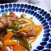 【夕食抜きの年金生活】昼食にお肉の甘酢あんかけを作りました!