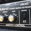 GT-100とキーボードアンプ