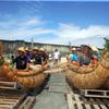 3万年前の航海「謎深まった」 草舟、どうにかゴール