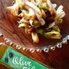 白葱のオリーブオイルかけ♪