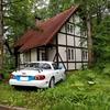 中札内農村休暇村フェーリエンドルフの「ドイツ古民家風コテージ」に泊まった。