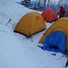 雪上キャンプのオキテ