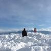 雪山遊びと、気がつくと溜まっているジャムの瓶