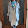 氷点下の寒さでも女っぽく!ドゥクラッセの大人可愛いグログラン付きダウンコート