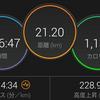 横浜マラソン後の初トレーニング、ハーフPB更新!