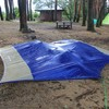 台 風 決 行 大池公園キャンプ場キャンツー