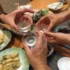 先輩に会いに山口県へ行くのだ❕ね、相棒@夕食の時間😊