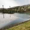 大槻公園の池(福島県郡山)