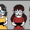 【マンガ】女だらけのゲーム大会とバイオハザード7体験版