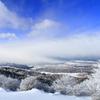 冬の高ボッチ高原を登山して写真を撮りました