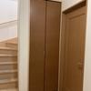二世帯住宅の1Fと2Fをつなぐドアとひと騒動