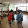 3年生:分散授業参観の準備