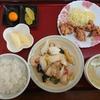 山形市 中国料理西華 海鮮三種塩炒めと鶏の唐揚げの特ランチセットをご紹介!🍚