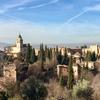 早春のスペイン♪ その2 赤い城 アルハンブラ宮殿