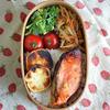 #065 鮭の味噌漬け入り田舎弁当
