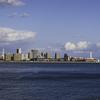 旧居留地とハーバーランドは朝から冷たい風の4月27日(土)。
