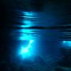 青の洞窟は宮古諸島の伊良部島にもある(沖縄の宮古諸島の伊良部島)