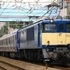 横須賀線用E235系とEF66 27