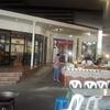 バンコクの屋台でタイ料理