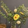 【花を飾る】#6 グリーン多めの組み合わせ