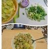 叔母の事と晩御飯と弁当。