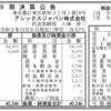 アシックスジャパン株式会社 第9期決算公告