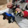 レゴ スピードチャンピオン フォード F-150 ラプター&フォードモデル A ホットロッド 75875 を組み立てて1歳4か月の息子と遊んでみたよ。