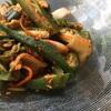 オクラのキムチ和え〜大自然で過ごす週末②地産地消のレストランin Preetz