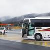 高速バス「新宿-長野線」に乗って、長野県の温泉へ。